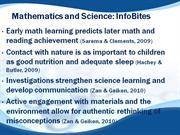 Math, Science, and Physical Education