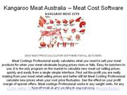 Kangaroo-Meat-Australia-meat-cost-software