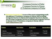 Datazone - IT Solutions company in Dubai