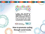 velo-city 2011 presentation