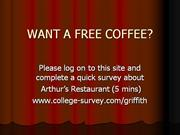 WANT A FREE COFFEE