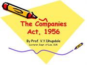 companies act, 1956