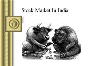 stock market in india by sumeet bassi