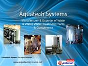 Pre Treatment & Wastewater Treatment Plants Maharashtra India