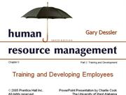 ch 8 hrm-training and development