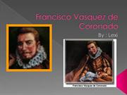 Francisco Vasquez de Coronado by lexi