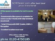 Contact 0120-4750181 Store for Rent in Sector 4 Noida Office Space