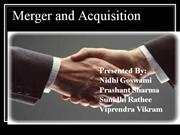 Merger and Acquisition2(2)
