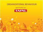 tapal tea organizational behaviour