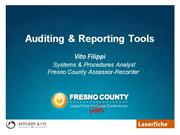 Auditing & Reporting Tools