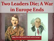 9-War in Europe Ends