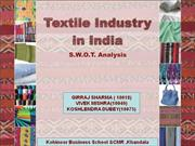 Textile Industry Anylisis BY Girraj Sharma