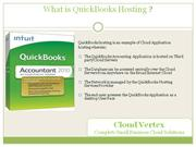 QuickBooks Hosting Service - QuickBooks Cloud Hosting Cloud Vertex