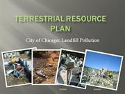 Terrestrial Resource Plan