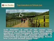 affordable tour operators in tehran iran