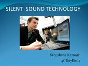 SILENT  SOUND TECHNOLOGY-1