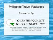pao congress tour packages