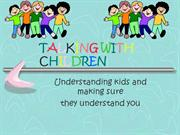 talking with children in effective communication