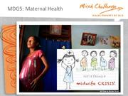 maternal health midwife crisis