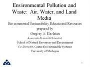 ppt on environment