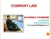COMPANY LAW PPT FOR MEWAR (1)
