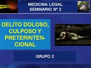 04 - Heridas contusas y Valor medico legal