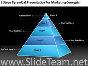 Steps to Reach To The Top Success Pyramid Structure
