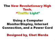 Green Energy Revolutionary Traffic Light  Automated