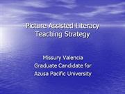 Picture Assisted Literacy Teaching Strategy