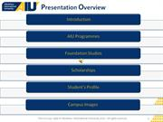 AIU Slide Show Presentation - Jan  2011