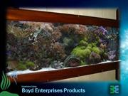 Aquariums using boyd products and CRF