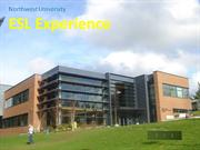 Northwest University ESL Experience
