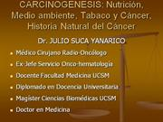 Epidemiologia del Cancer Cervical