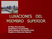 07 - Luxacion de Miembro Superior
