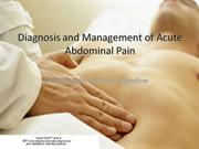 laparoscopic management of acute abdomen