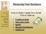 Small Business Financing Presentation