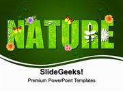 VACATION GREEN NATURE ENVIRONMENT PPT TEMPLATE 1
