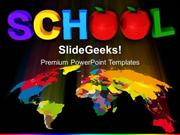MAPS GLOBAL SCHOOL EDUCATION PPT TEMPLATE