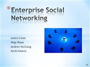 IT in the News - Enterprise Social Networking