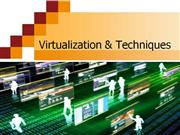 virtualization and techniques