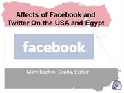 Facebook and Egypt