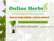 Cheapest Natural Herbal Remedies – OnlineHerbs