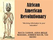 African American Revolutionary