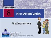 A04 - Unit 1 - Non-Action Verbs