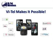 Vi-Tel Wireless Opportunity Presentation 4-1-Revised