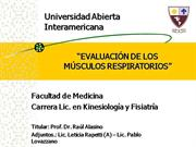 EVAL MUSC RESP