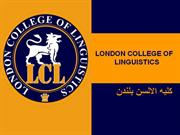 london college of linguistics