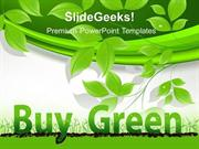 GREEN ENERGY BUY GREEN ENVIRONMENT PPT TEMPLATE