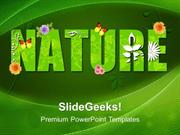 VACATION GREEN NATURE ENVIRONMENT PPT TEMPLATE