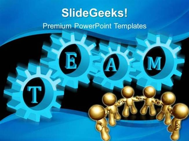 Information technology gears team teamwork ppt template powerpoint related powerpoint templates toneelgroepblik Gallery